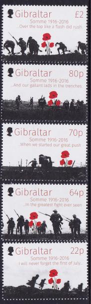 GIBRALTAR- Battle of Somme 100th Anniversary (5)