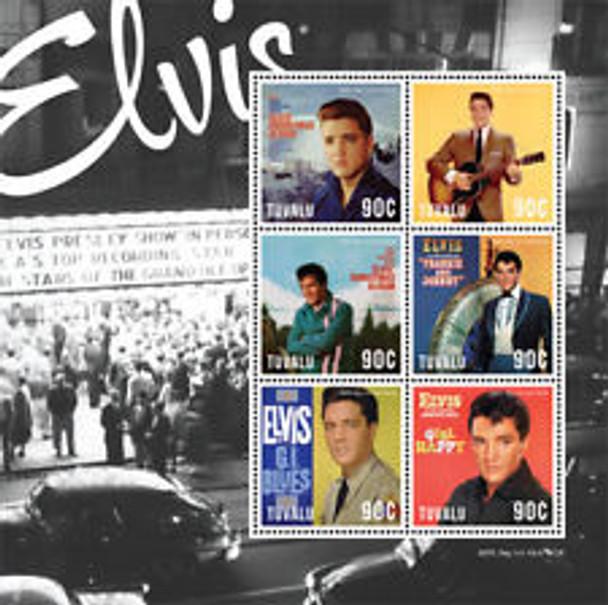 TUVALU (2013) Elvis Sheet 6v