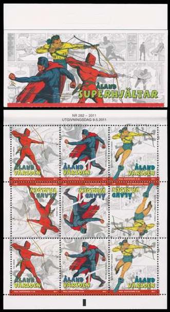 ALAND (2012) - Superheroes Booklet