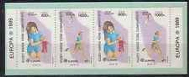 CYPRUS (1989) Europa,Children booklet