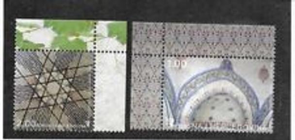BOSNIA (2003) sc#447-8 Art (2v)