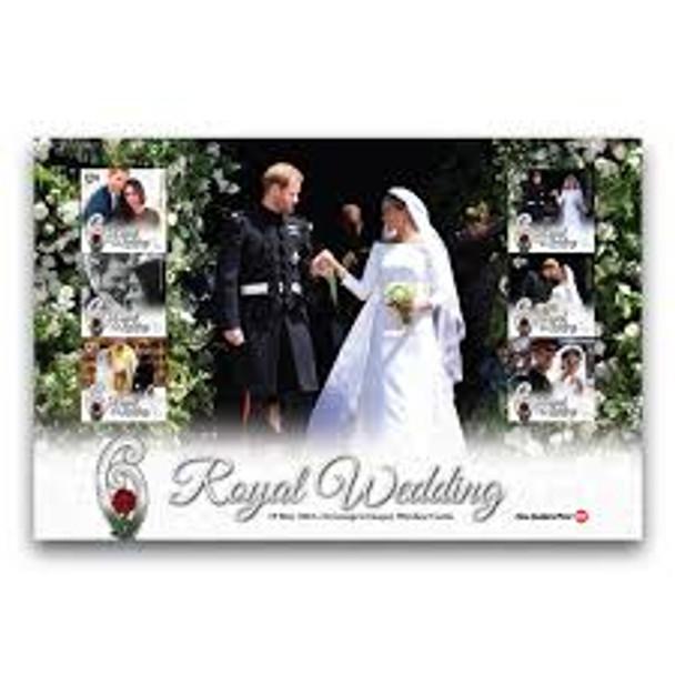 NEW ZEALAND (2018) Royal Wedding Large Sheet