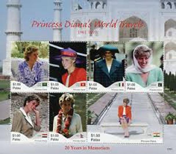 PALAU (2018) Princess Diana 20 Year Memorial LAST ONE