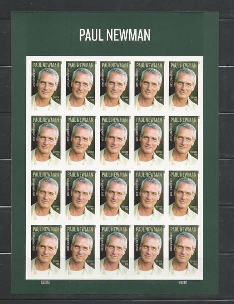 US (2016)- Paul Newman Sheet of 20v #5020a