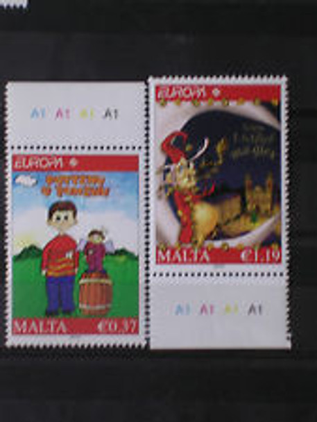 MALTA (2010) Europa, Childrens Books (2v)
