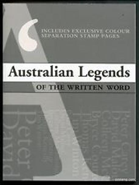 AUSTRALIA ( 2010) Legends Of The Written Word Prestige Booklet