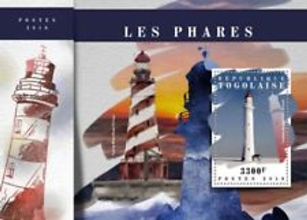 TOGO (2018) Lighthouses , Sheet and SS LAST ONE