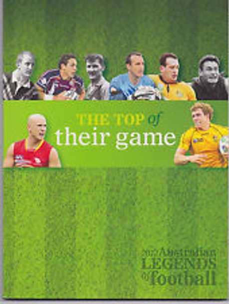 AUSTRALIA (2012) Legends Of Football Prestige Booklet