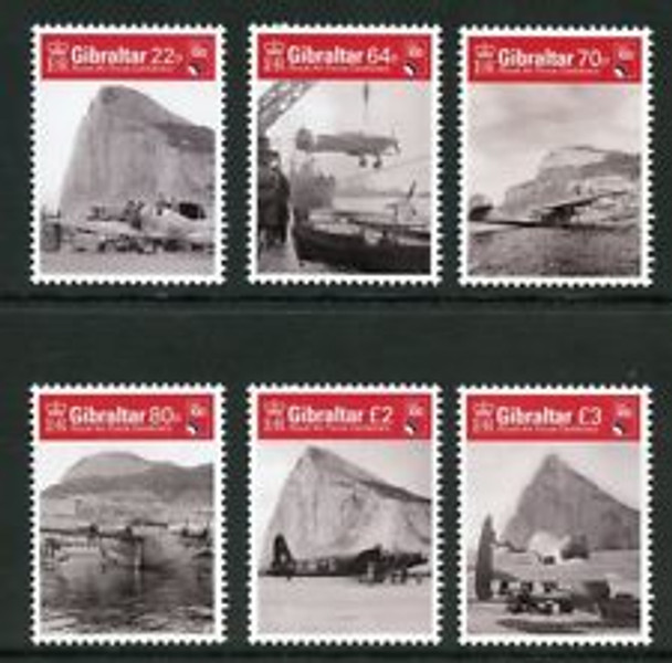 GIBRALTAR (2018) RAF Centenary  (6v)LAST ONE