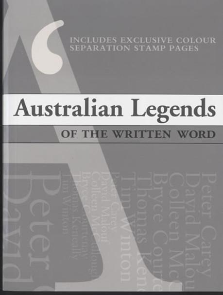 AUSTRALIA- Legends of the Written Word Prestige Booklet