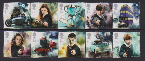 GR. BRITAIN (2018)- Harry Potter Characters (10v)