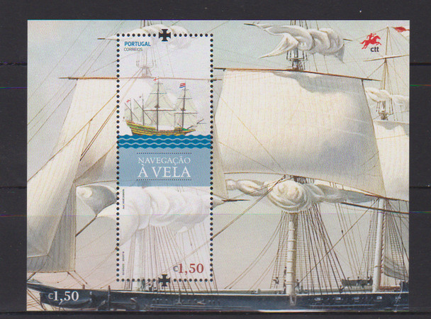 PORTUGAL (2018)- Sailing Souvenir Sheet