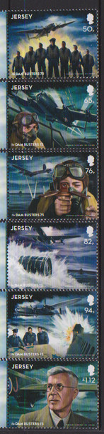 JERSEY (2018)- WWII DAM BUSTERS ANNIVERSARY (8v)
