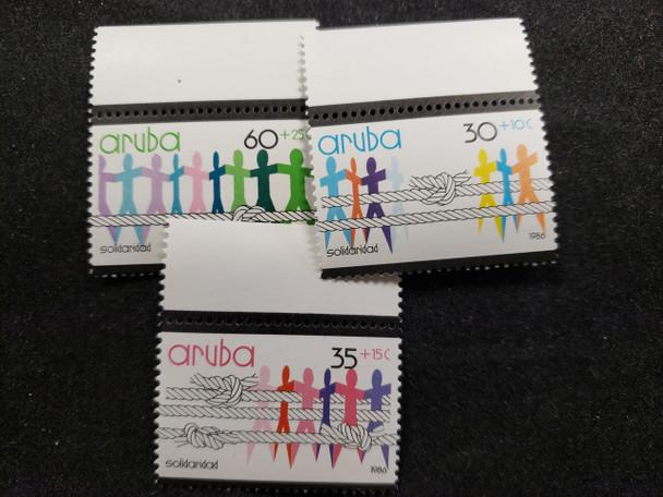 ARUBA (1986) Semi Postal (3v)
