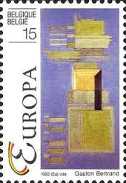 BELGIUM ( 1993) EUROPA Art (2v)