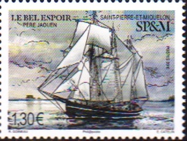 """St. Pierre (2019)- Sail Ship  """"Le Bel Espoir"""""""