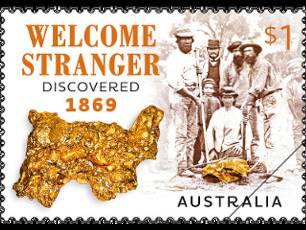 """AUSTRALIA (2019)- """"Welcome Stranger""""- Gold Prospectors"""
