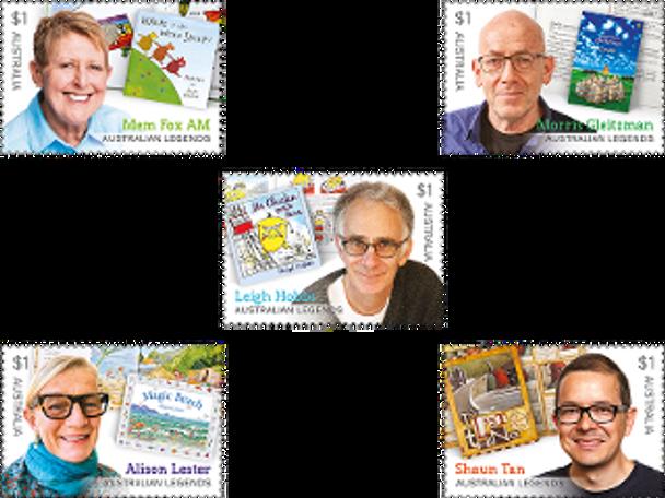 AUSTRALIA (2019)- Legends of Children's Literature (5v)