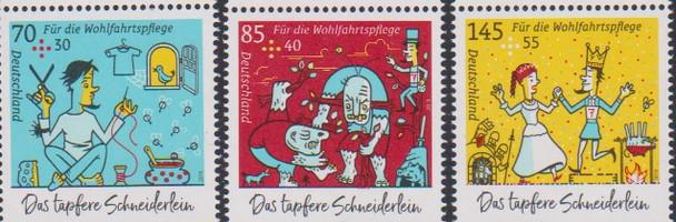 GERMANY (2019)- Little Valiant Taylor (Semi-Postals)- 3v