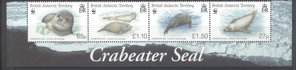 BR. ANTARCTIC TERR.- WWF Crabeater Seal (4)