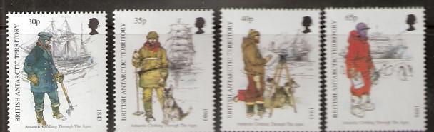 BRITISH ANTARCTIC TERRITORY (1998)- Antarctic Clothing