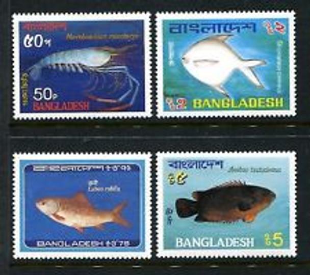 CHINA (1965) FISH (4v)