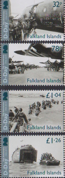 FALKLAND (2019)- WWII D-DAY ANNIVERSARY (4v)
