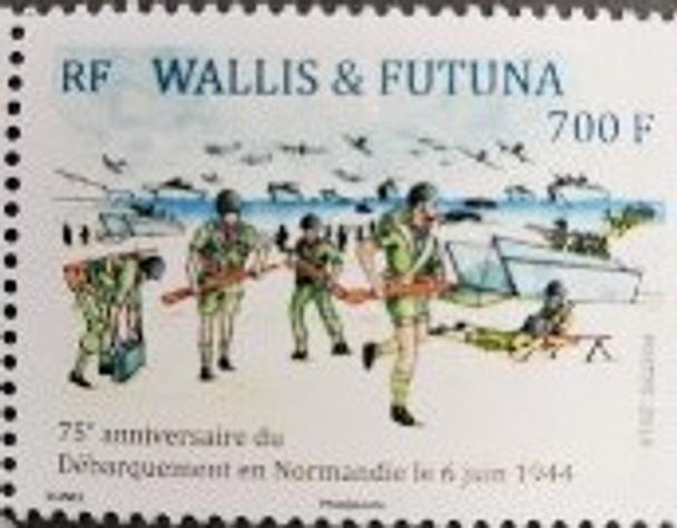 WALLIS & FUTUNA (2019) WWII- 75th Anniversary Of Landing In Normandy (1v)
