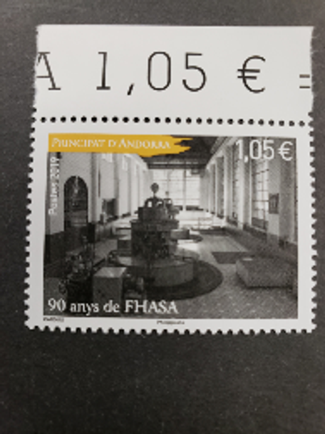 FRENCH ANDORRA (2019) Hydroelectric (1v)