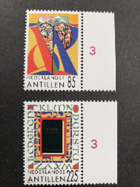 NETHERLANDS ANTILLES (1996) Religion , Translation Of Bible Into Papiamentu (2v)