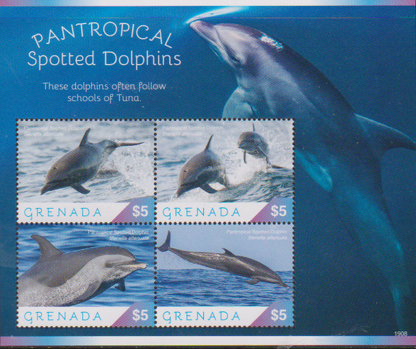 GRENADA (2020)- Dolphins Sheet
