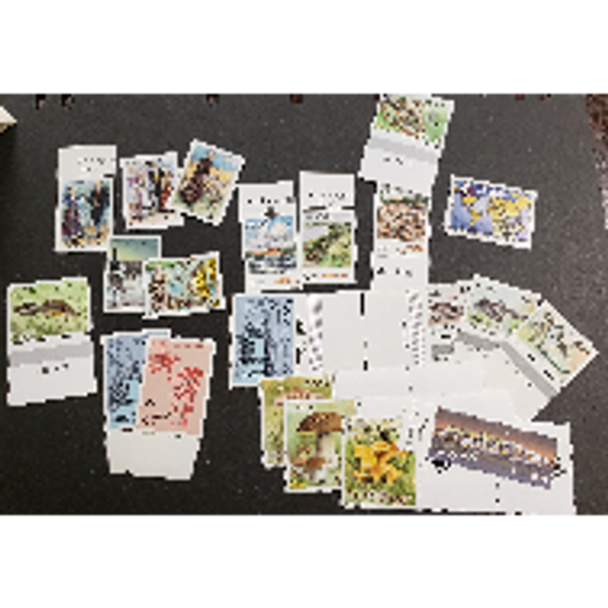 ALAND 1990S-2000's Surprise Lot Of 100 Stamps , A Few Gutter Pairs