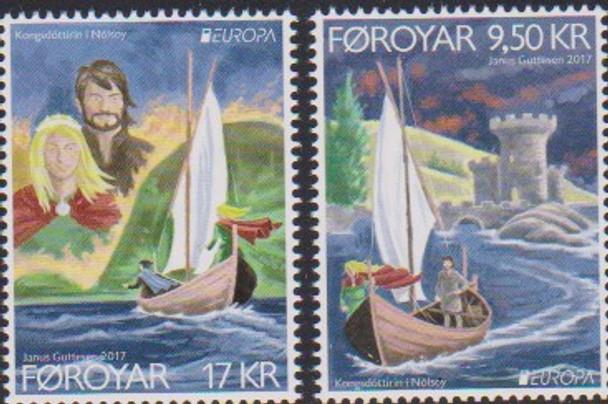 FAROE ISLAND (2017)- EUROPA - EUROPEAN CASTLES (2V)