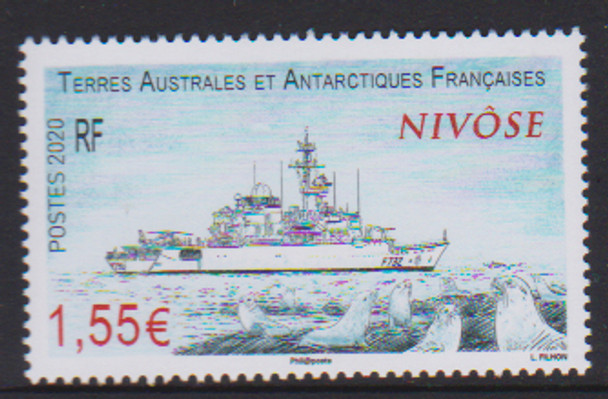 FRENCH S. ANTARCTIC TERRITORY (2020)- Nivose Ship
