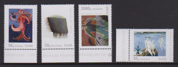 ICELAND (2020)- CONTEMPORARY ART (4V)- NUDES, ETC.