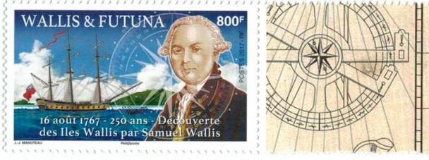 WALLIS & FUTUNA (2017)- 250TH ANNIVERSARY OF DISCOVERY