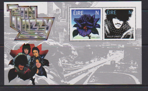 IRELAND (2020)- THIN LIZZY (Music Group)- set of 2 & s.s.