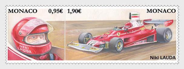 MONACO (2020)- Formula 1 Race Drivers Niki Lauda (2v)
