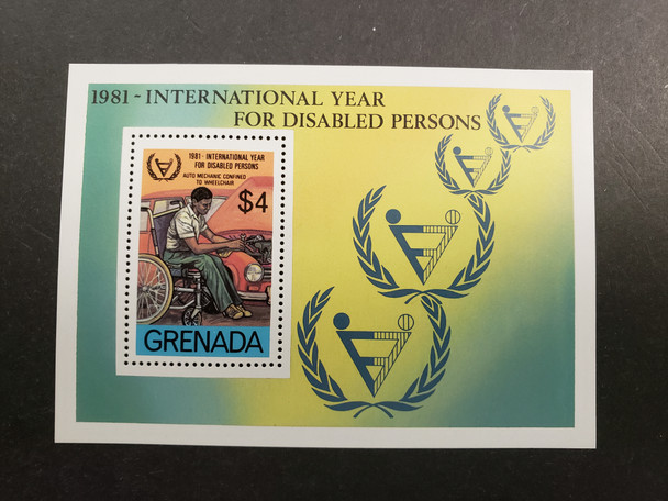 GRENADA (1981) International Year Disabled Persons