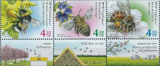 ISRAEL (2020)- BEES IN ISRAEL (3v)
