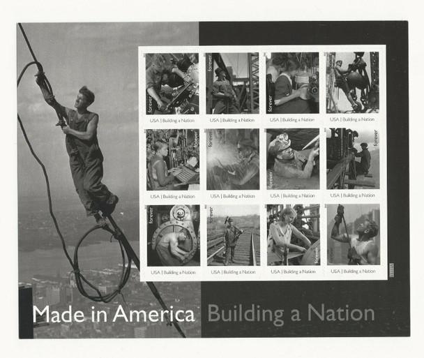 US (2013)- BUILDING A NATION- 12v (Classic Photos) #4801