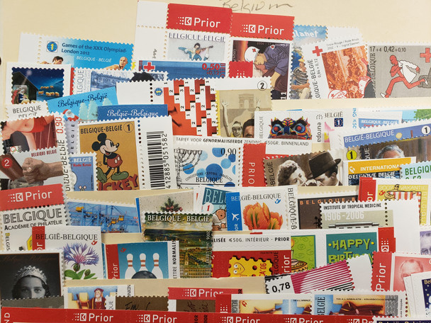 BELGIUM Collection More than 200 Stamps , Includes Many Sets