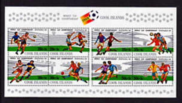COOK ISLANDS (1981) World Cup Soccer SS