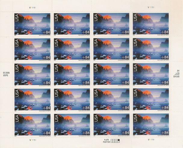 US (2006)- Yosemite National Park (Air Mail) #C141 Sheet of 20