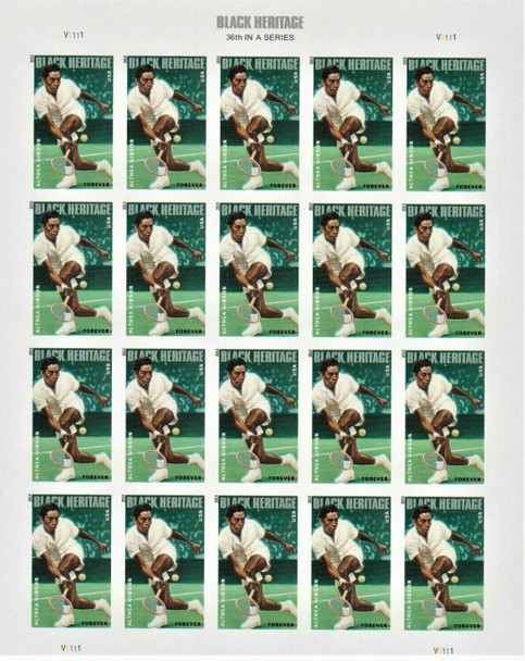 US (2013)- Althea Gibson (Tennis) Sheet of 20- #4803
