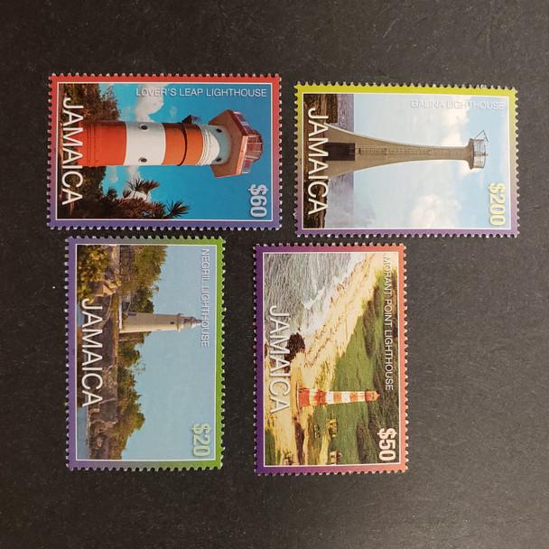 JAMAICA (2017) Lighthouses (4v)