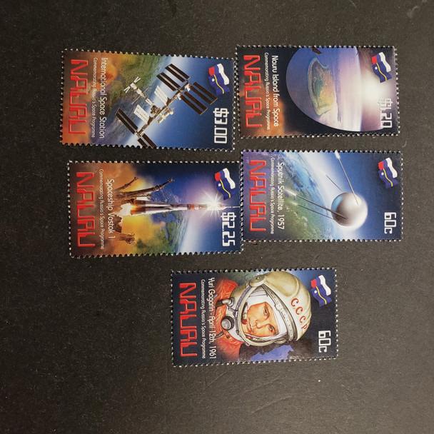 NAURU (2011) International Space Station  (5v) LAST ONE