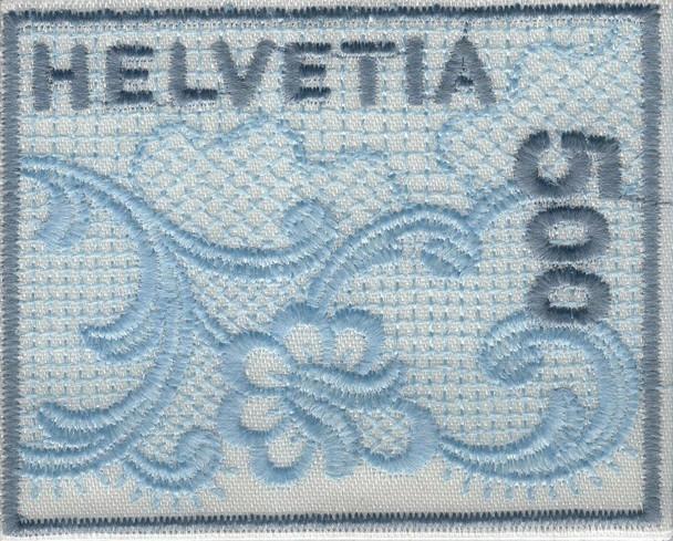 SWITZERLAND 2000 - SC# 1075 Embroidered Stamp