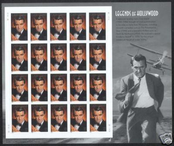 US (2003)- Legends of Hollywood-  Cary Grant- Complete Sheet #3692