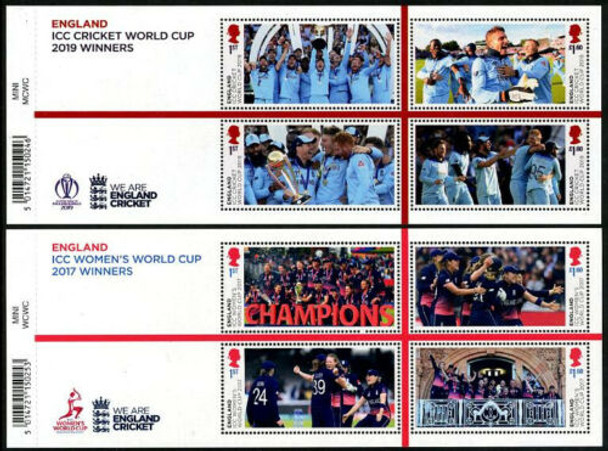 GR. BRITIAN (2020)- ICC Men's and Women's Cricket Championship Sheets